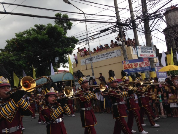 Bacoor Marching Band Festival 1