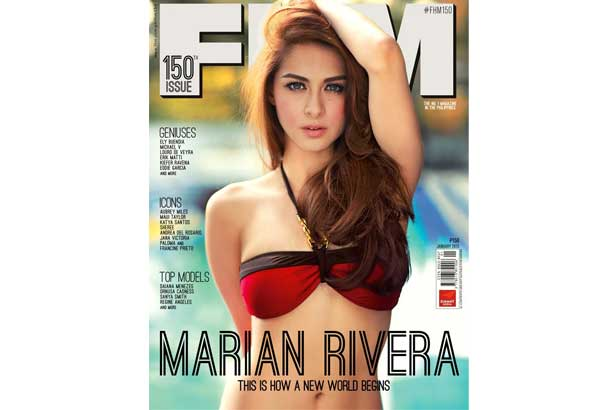 Can defined? Marian rivera fhm cover