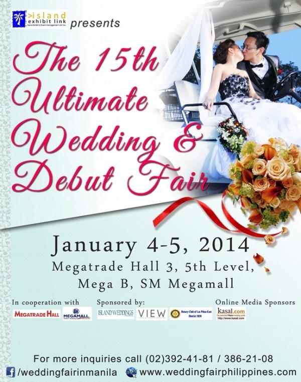 The 15th Ultimate Wedding Fair