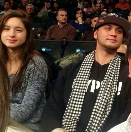 Billy and Coleen watch NBA